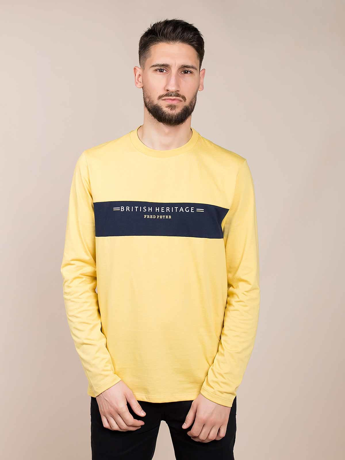 Camiseta manga larga estampada Heritage