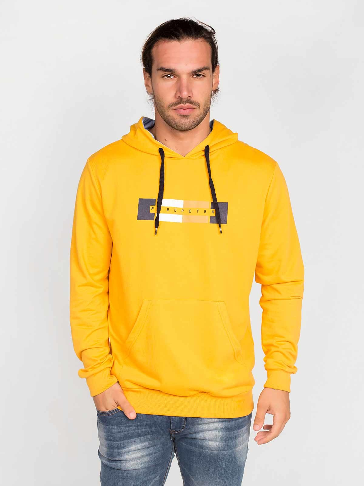Camisola hoodie Fred Peter