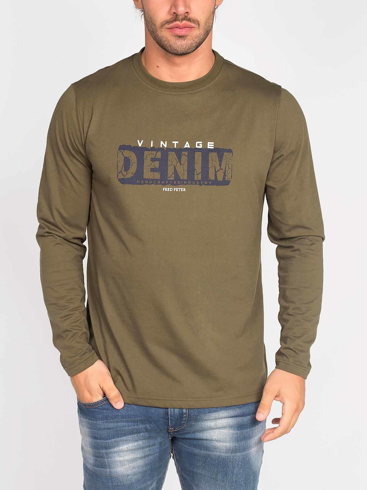Camiseta de manga larga Vintage
