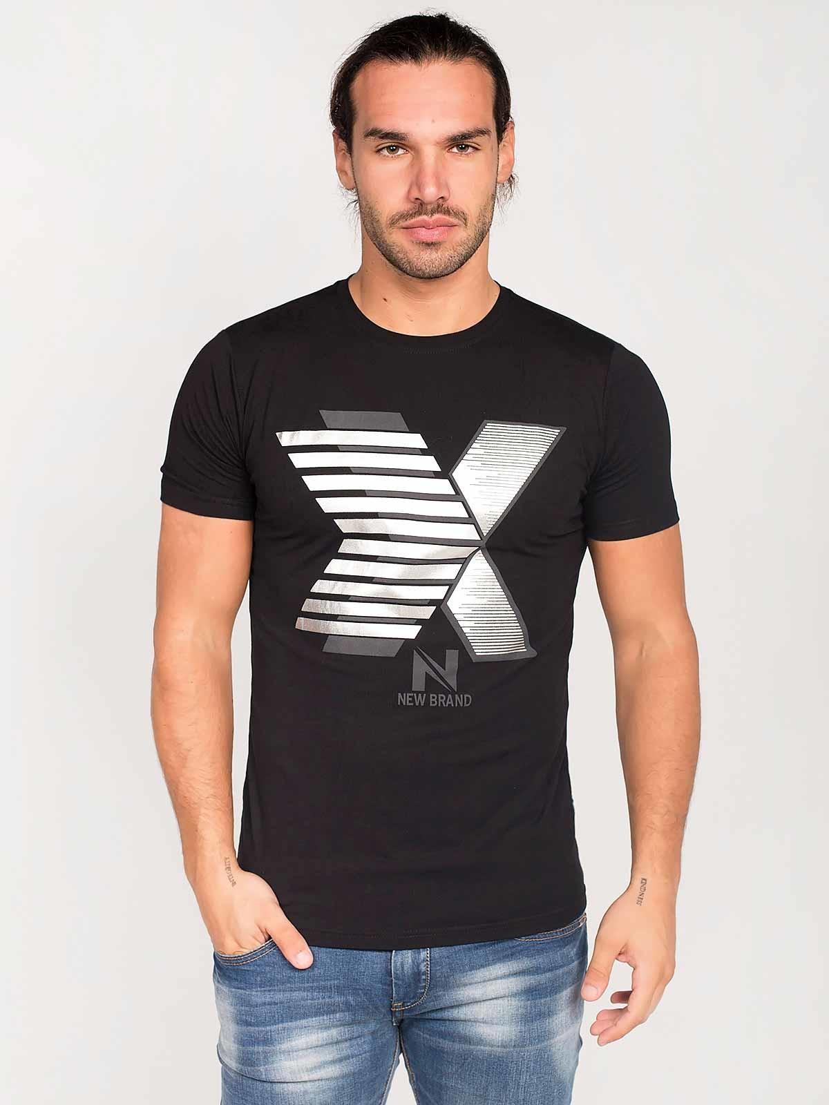 Camiseta manga corta New Brand