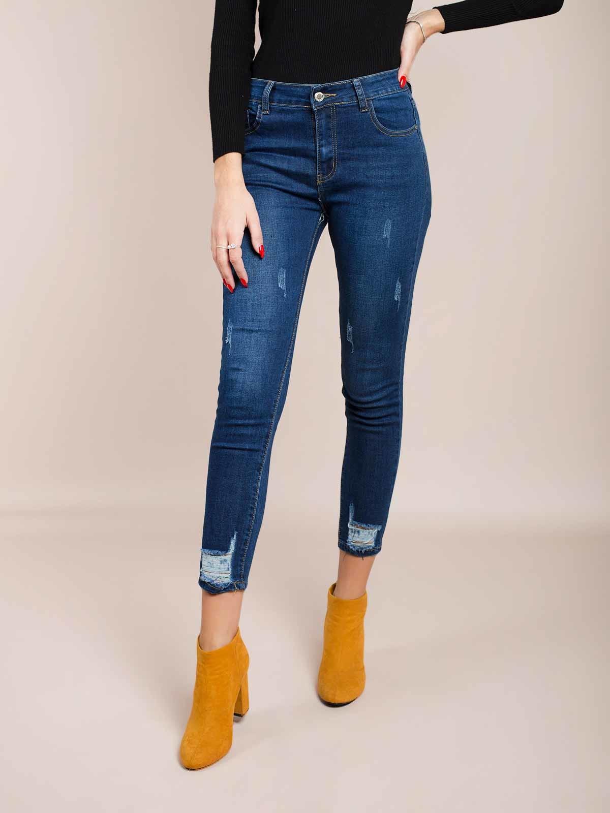 Calças ganga ripped jeans