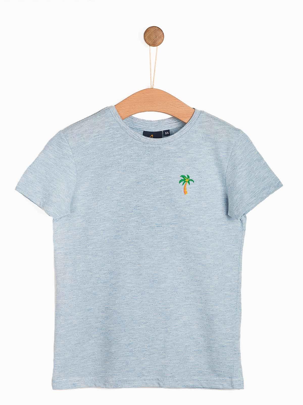 T-shirt criança menino riscas