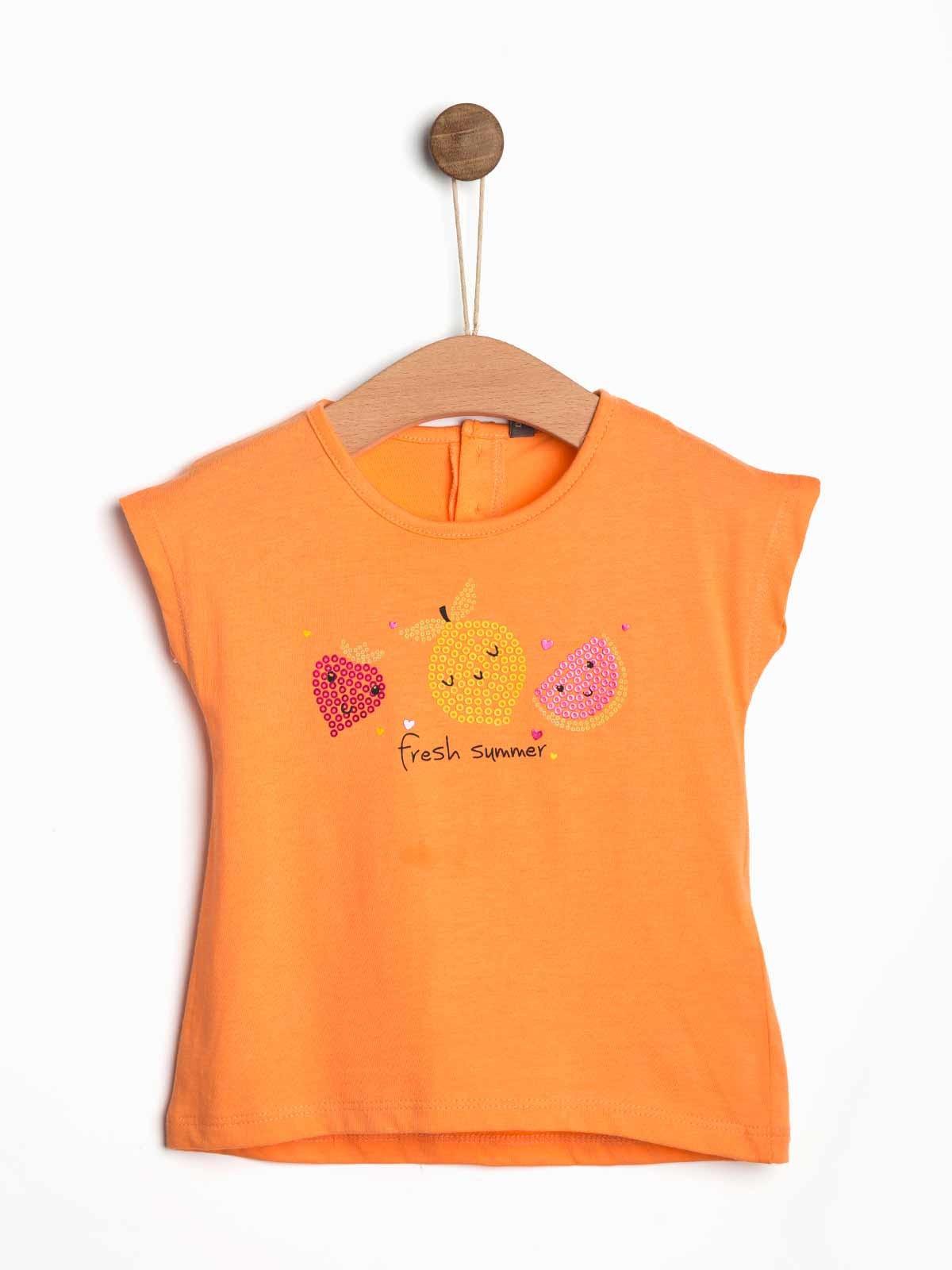 T-shirt estampada bebé Fresh Summer