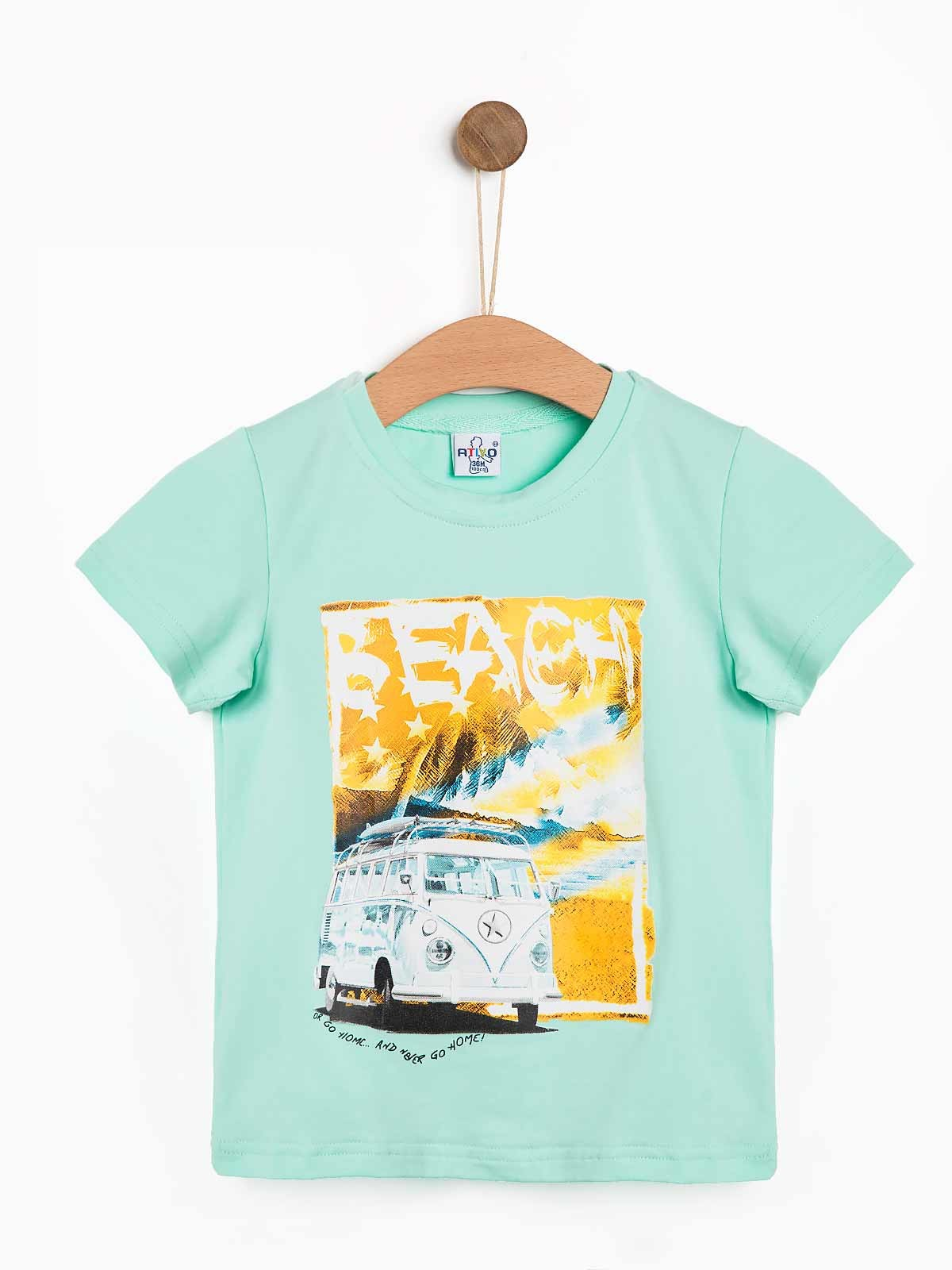 T-shirt bebé menino Beach