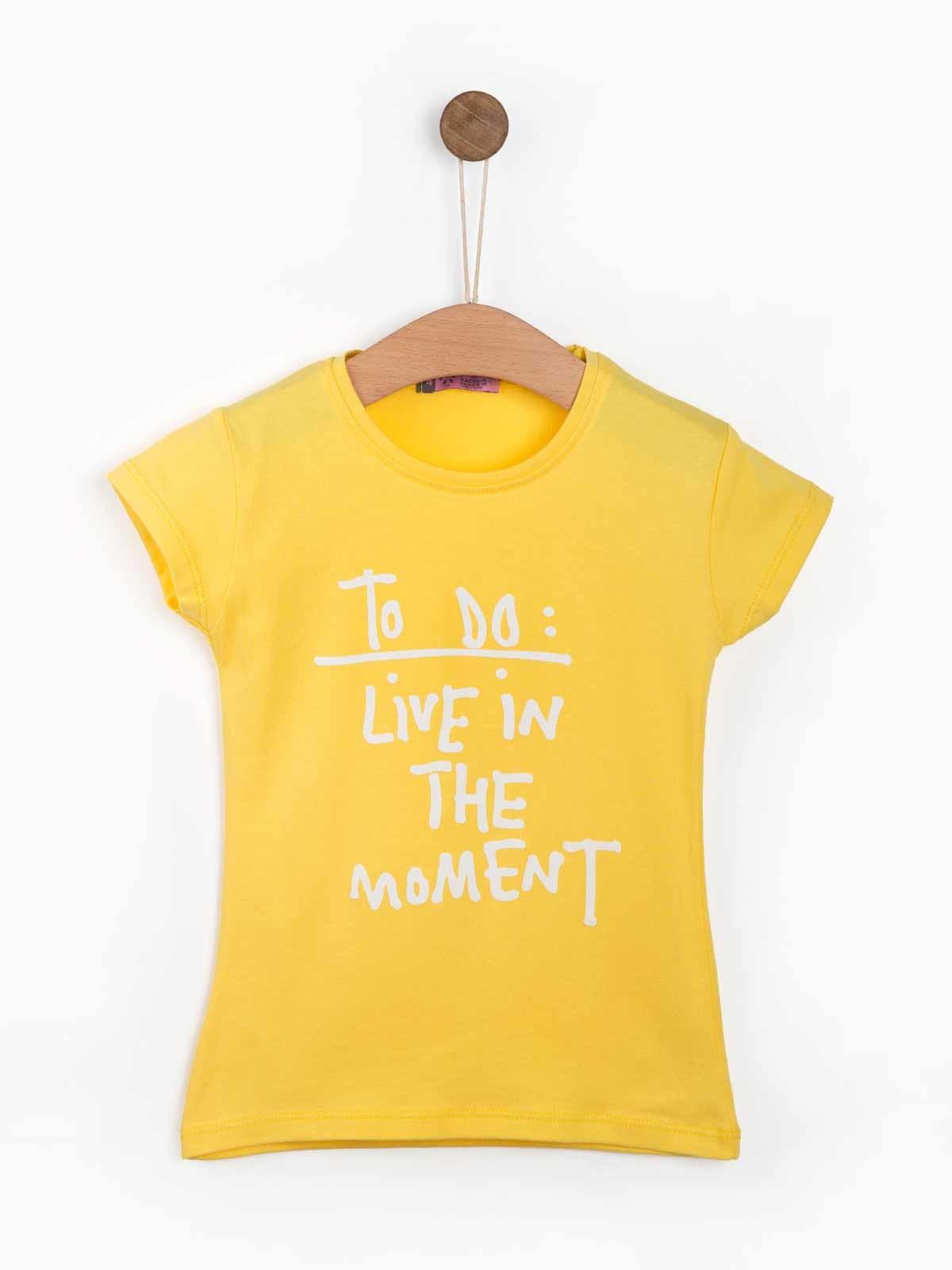 T-shirt estampada Moment