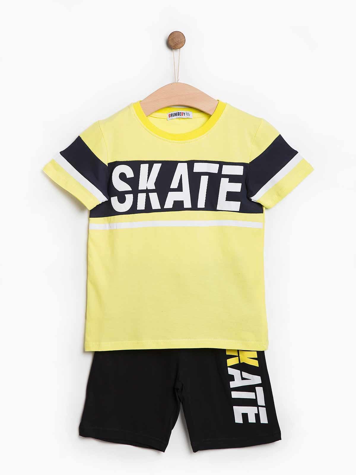 Conjunto calção t-shirt Skate