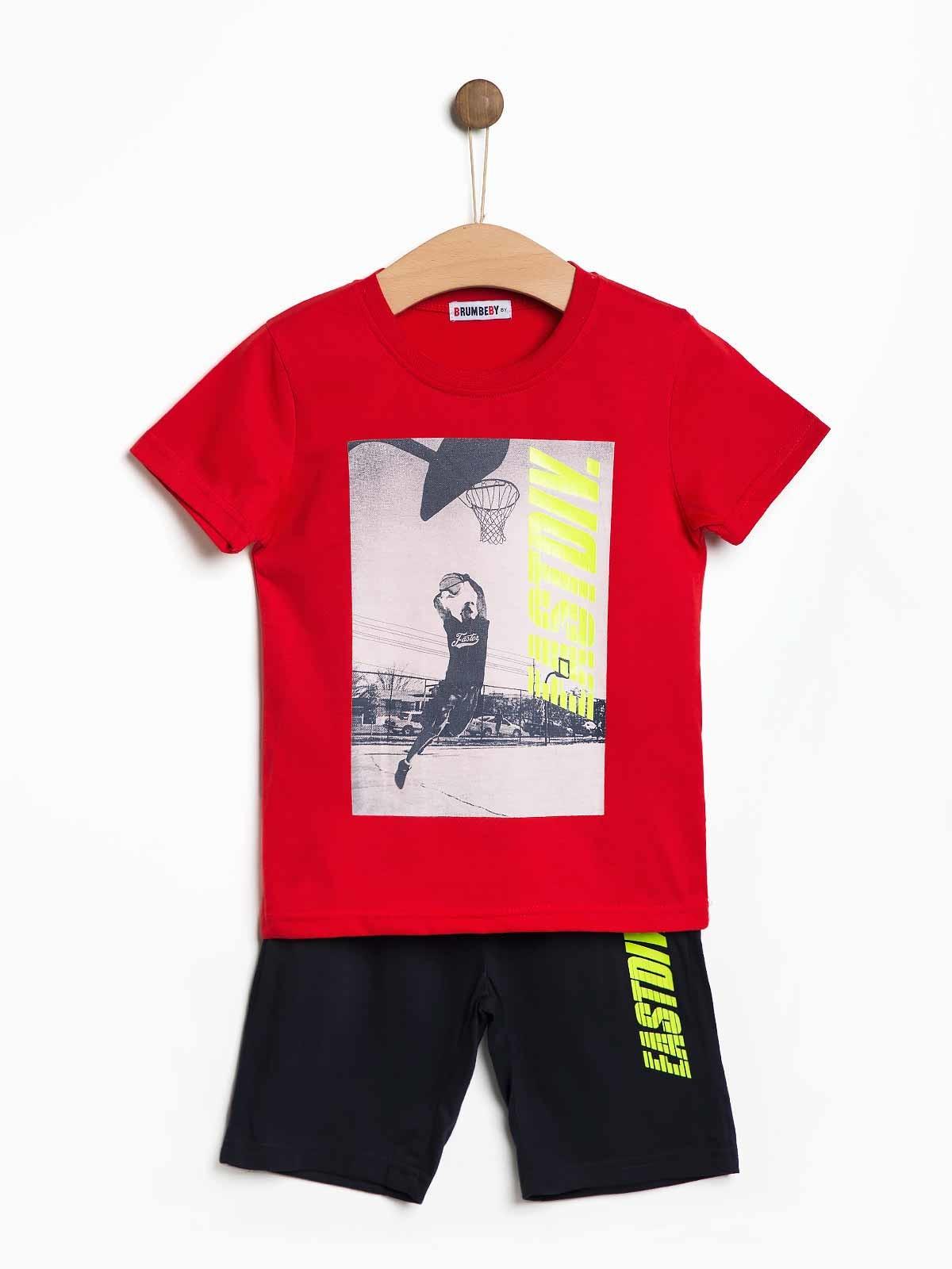 Conjunto calção t-shirt EastDiv