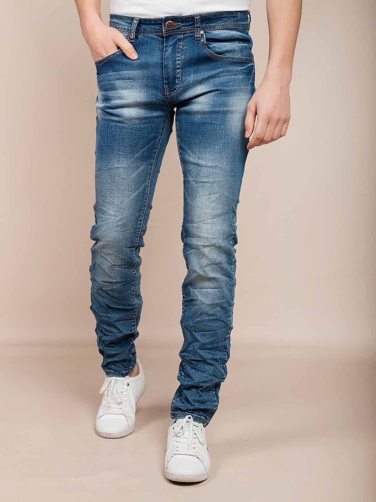 Calças ganga slim fit jeans