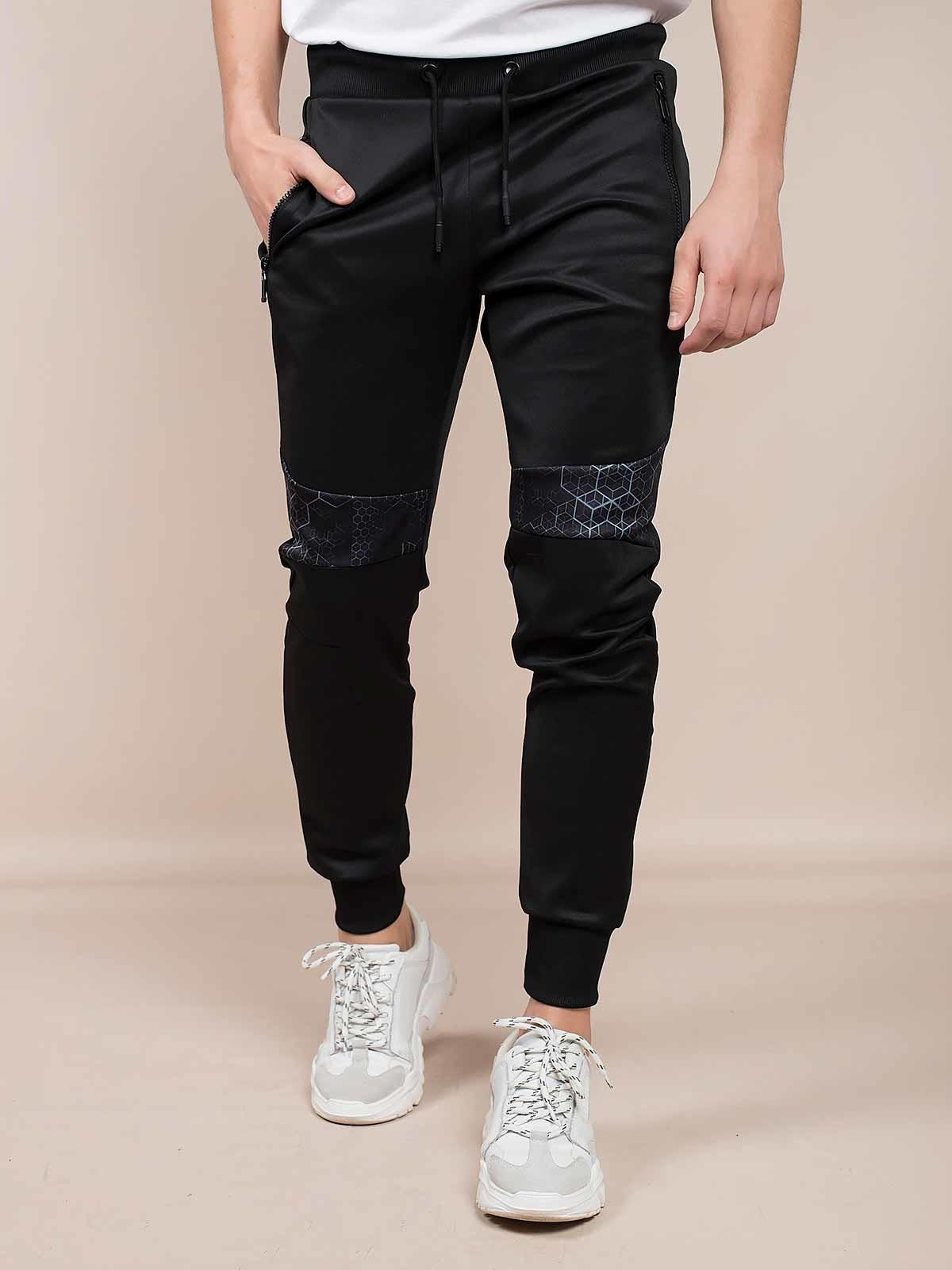 Calças pretas desportivas