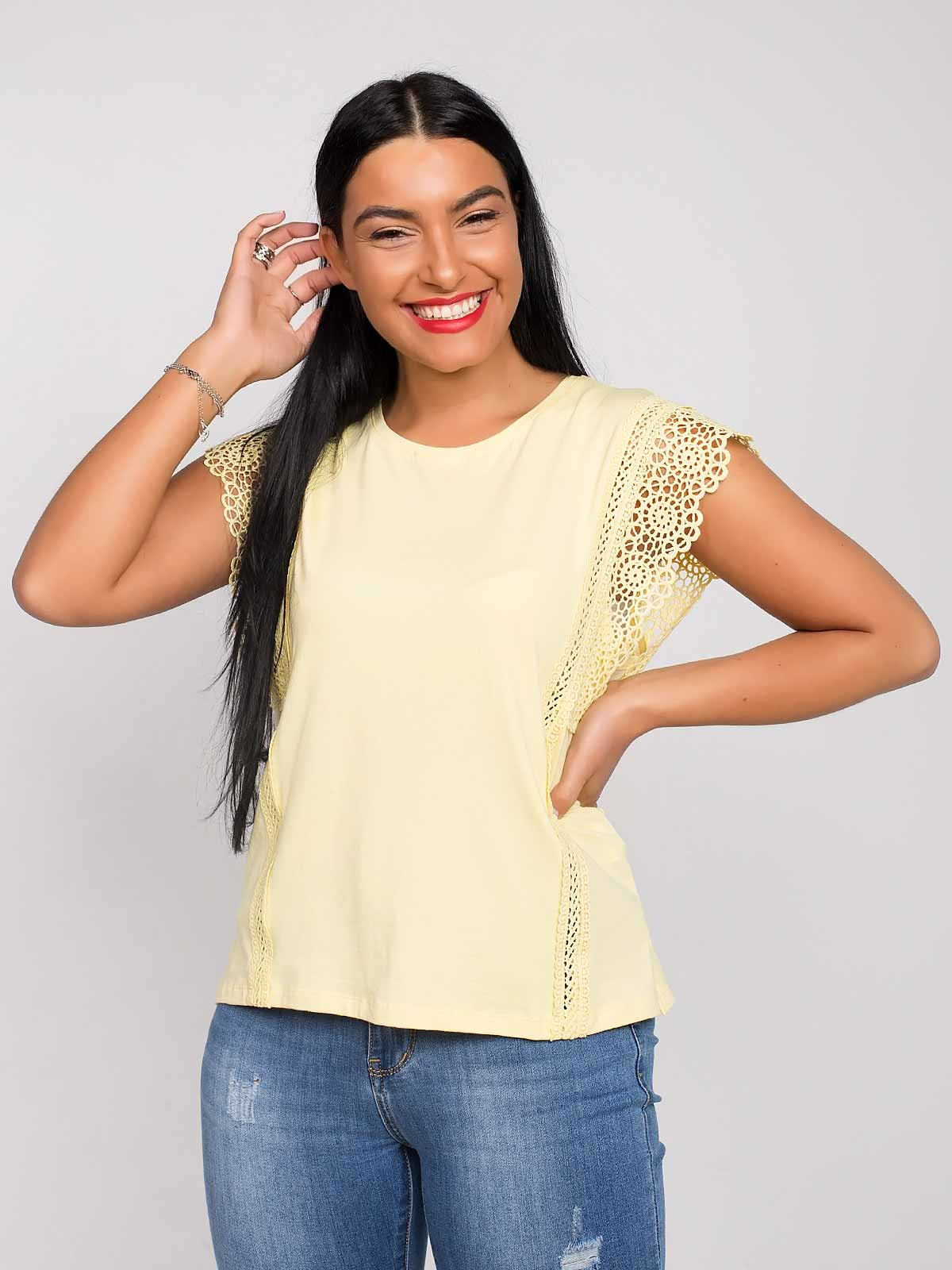 Top mangas crochet