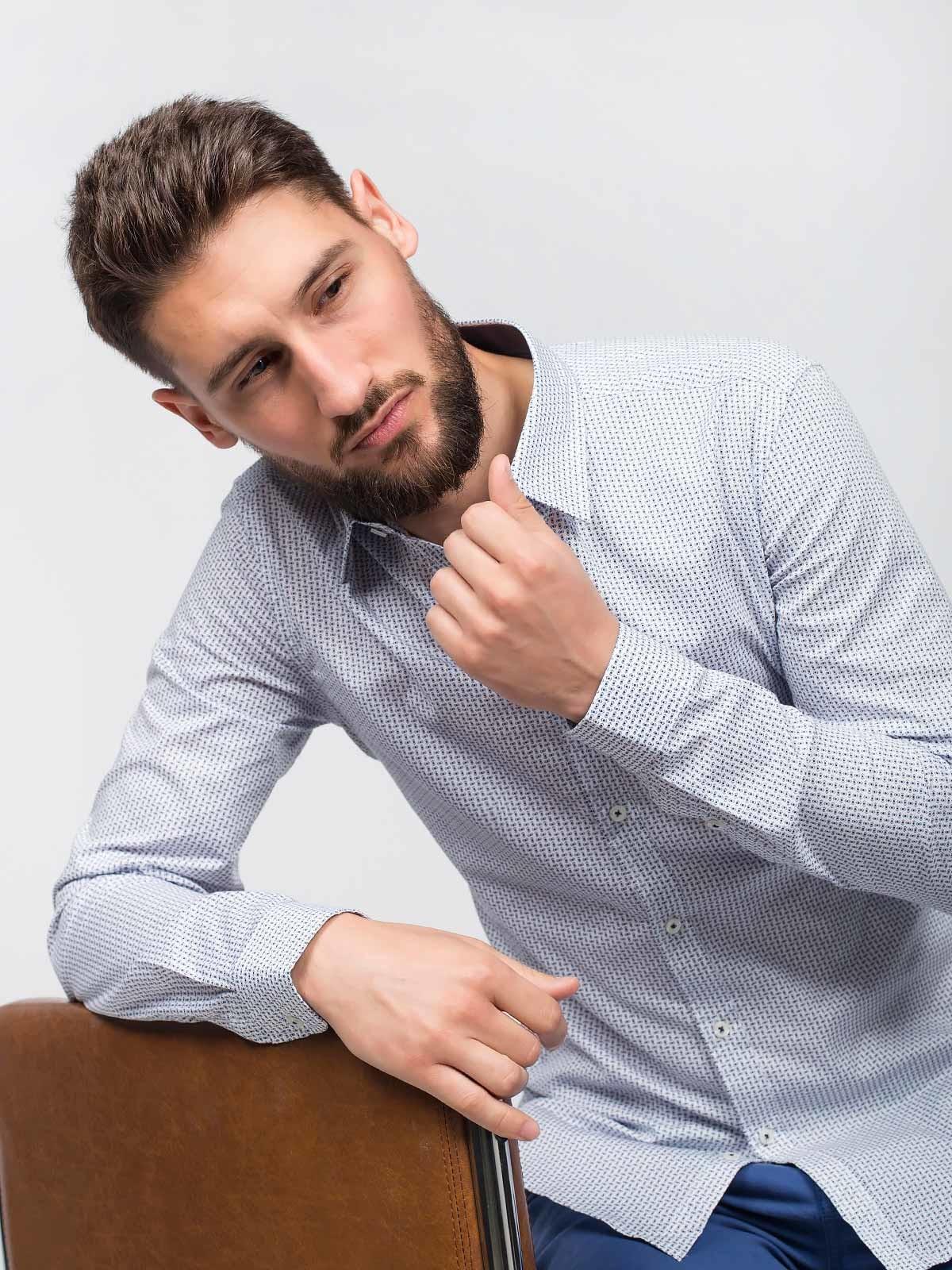 Camisa manga comprida estampada