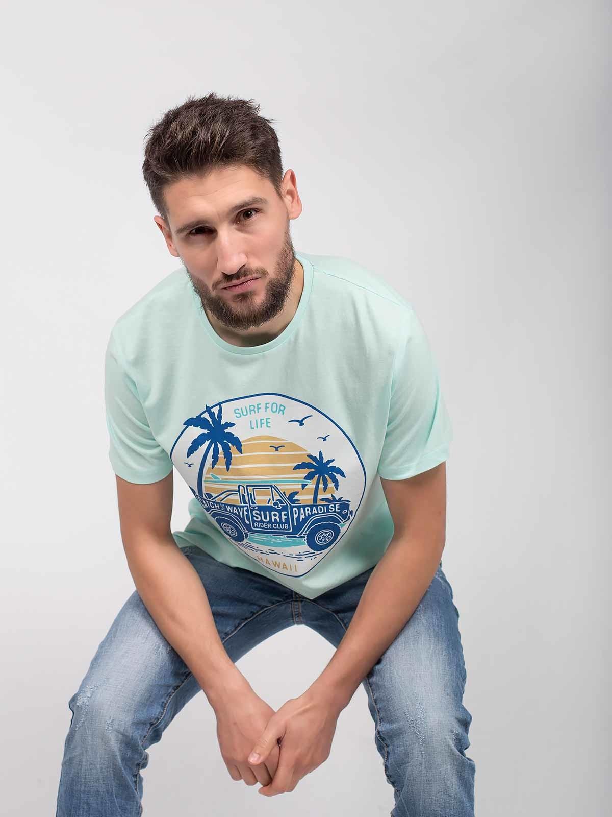 T-shirt estampada Hawaii