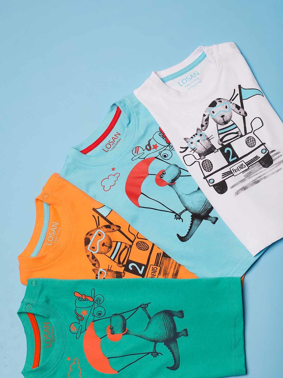 T-shirt manga curta estampadas