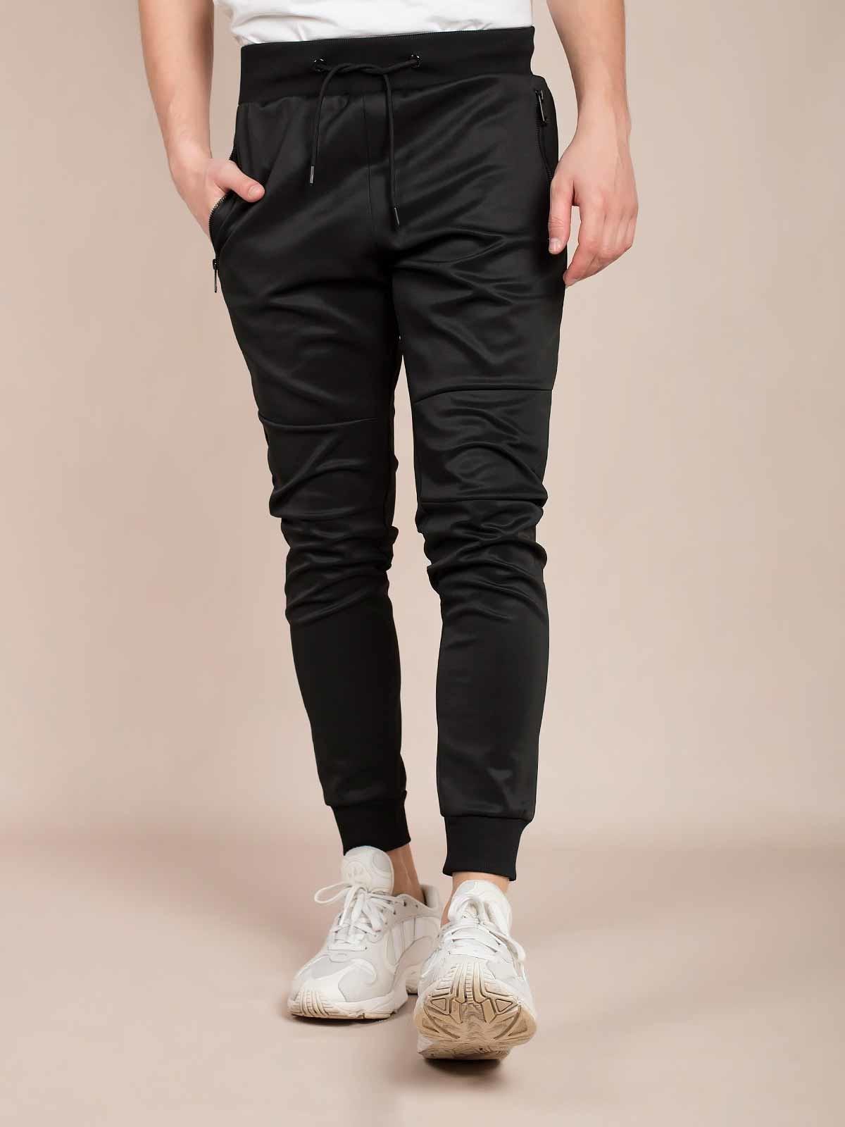 Pantalones de chándal lisos brillantes