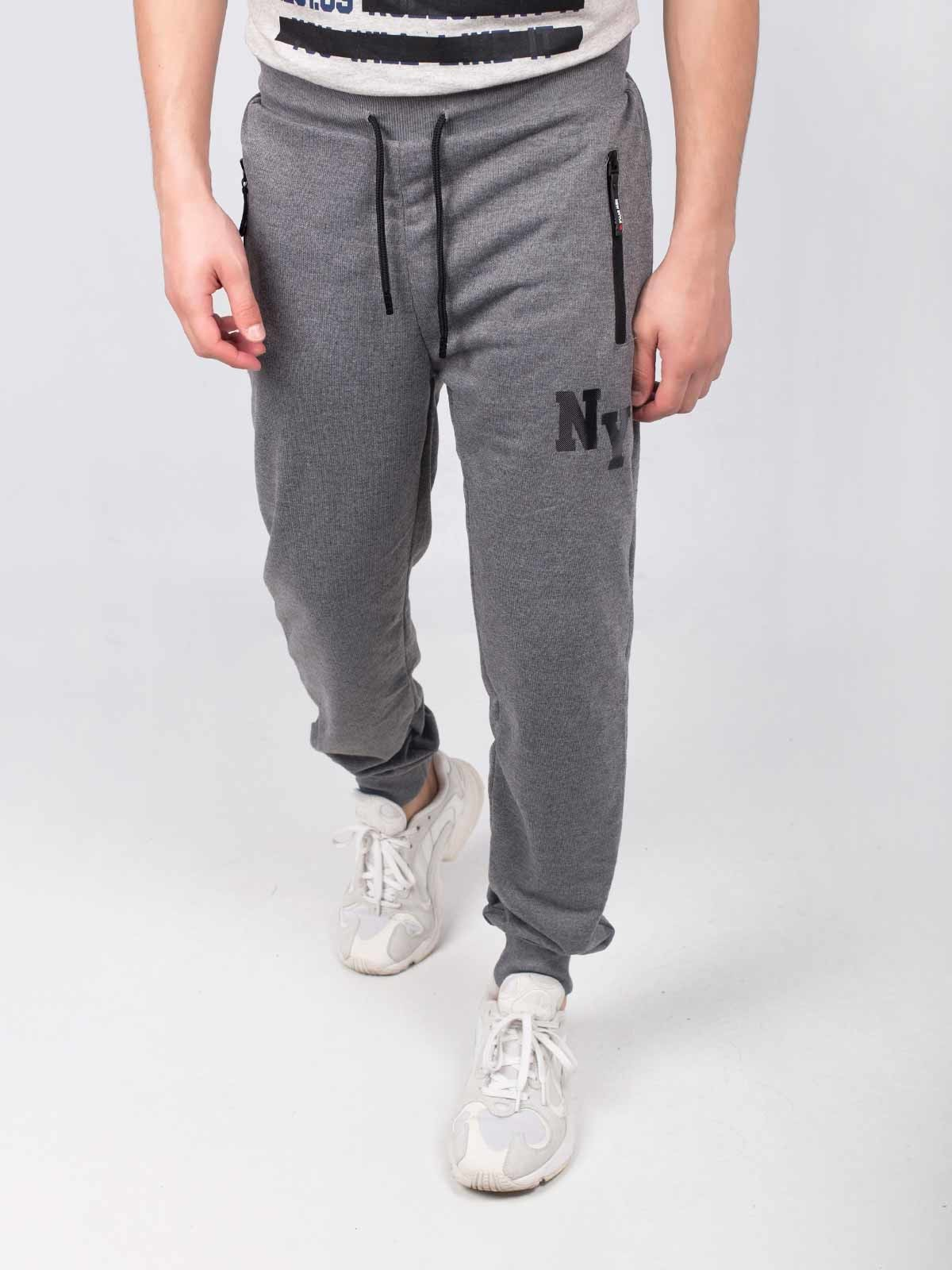Pantalones deportivos símbolo NY