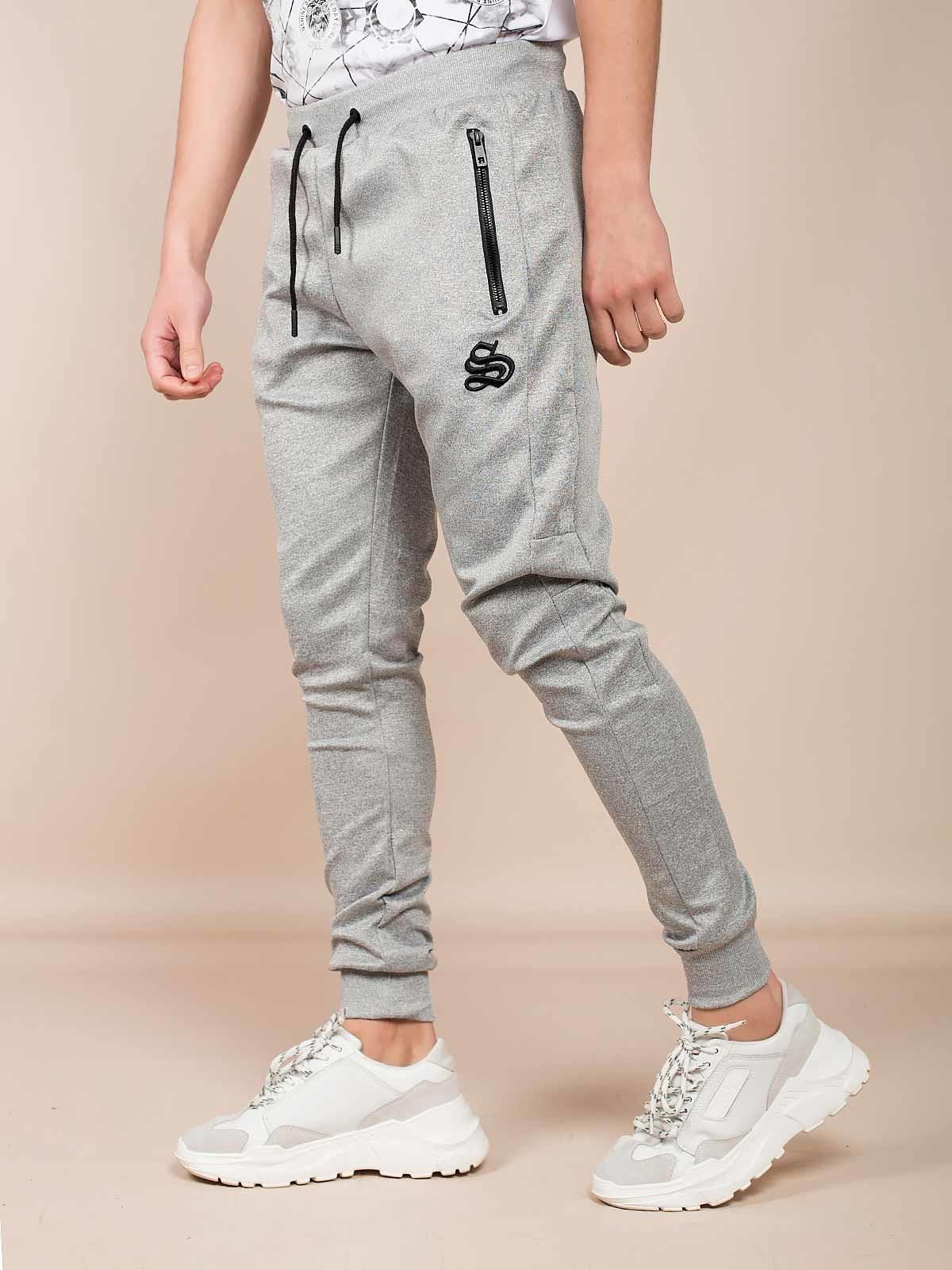 Pantalones chandál con bordado