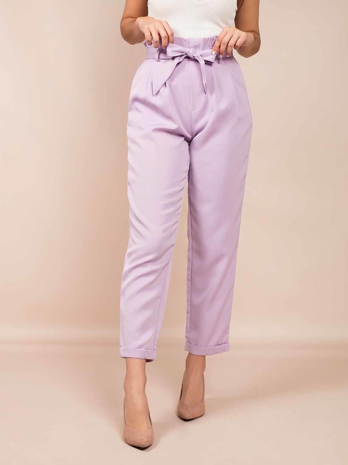 Pantalón estilo paper bag