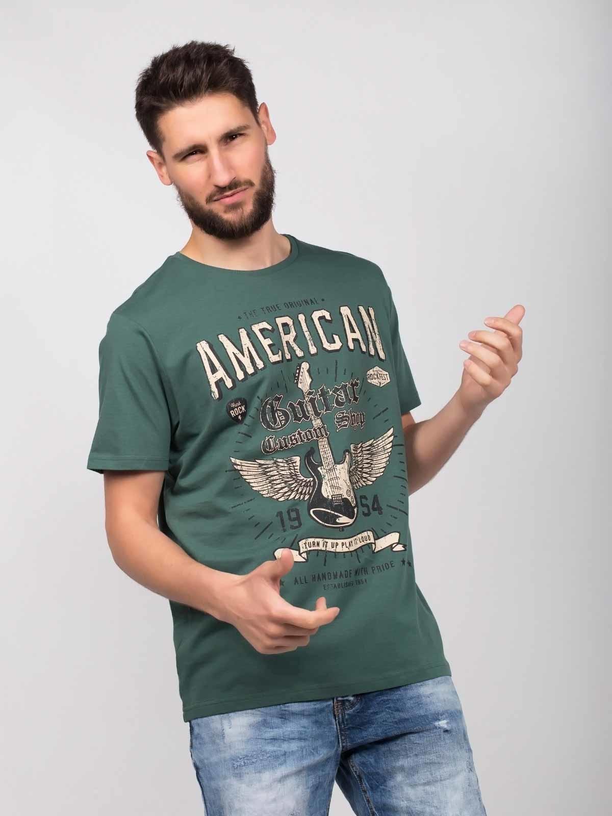 Camiseta manga corta American Guitar