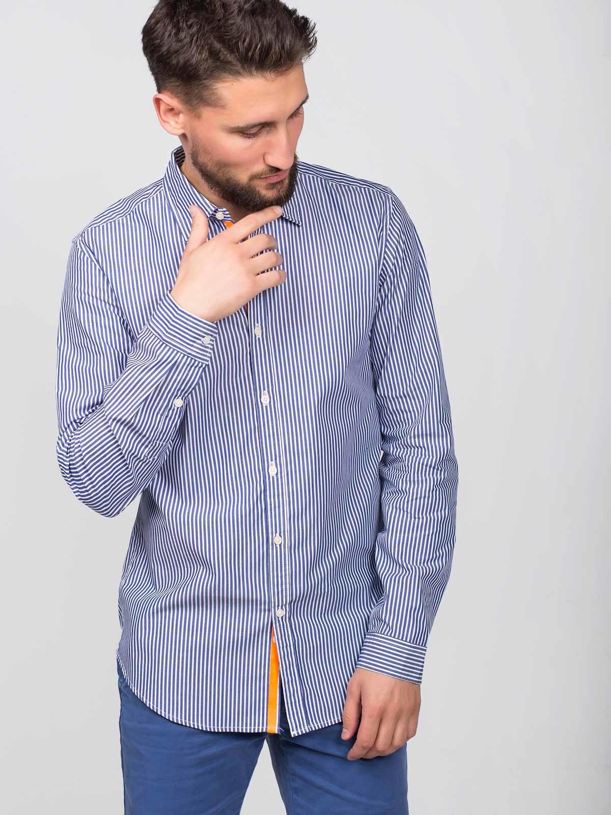 Camisa de rayas verticales