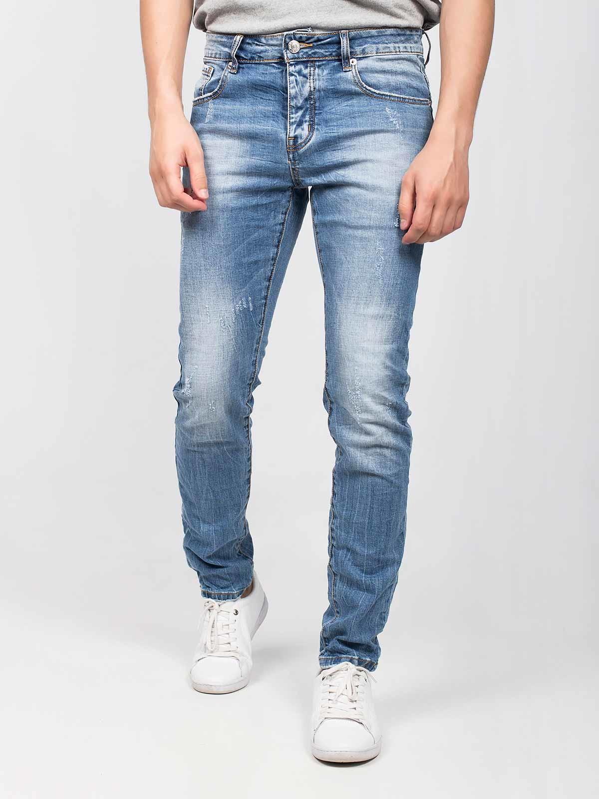 Jeans manchados