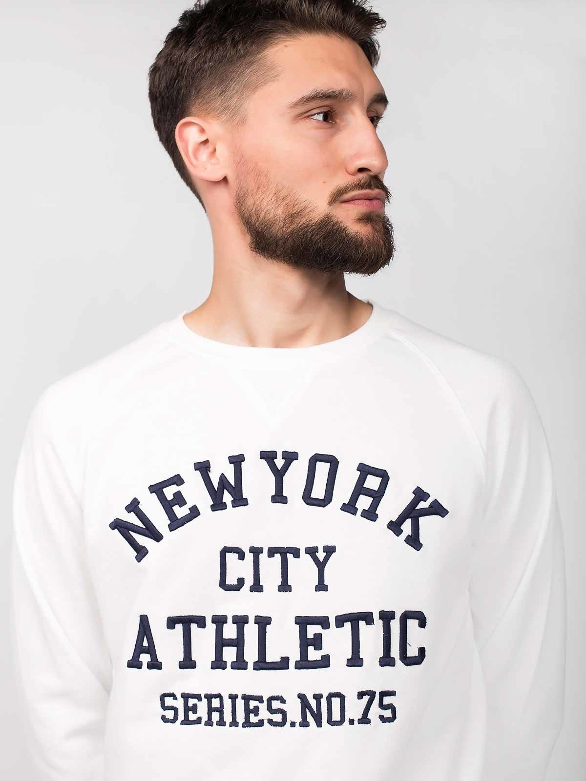 Jersey estampado de manga larga