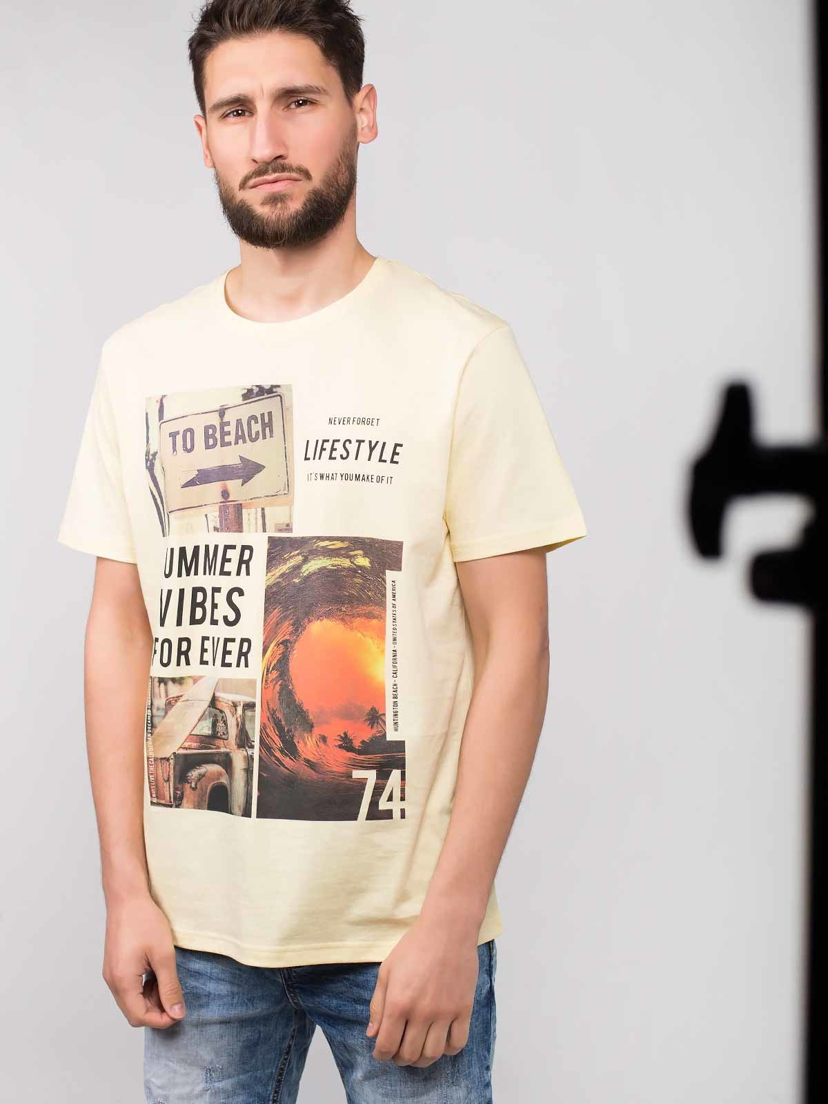 Camiseta estampada Summer Vibes