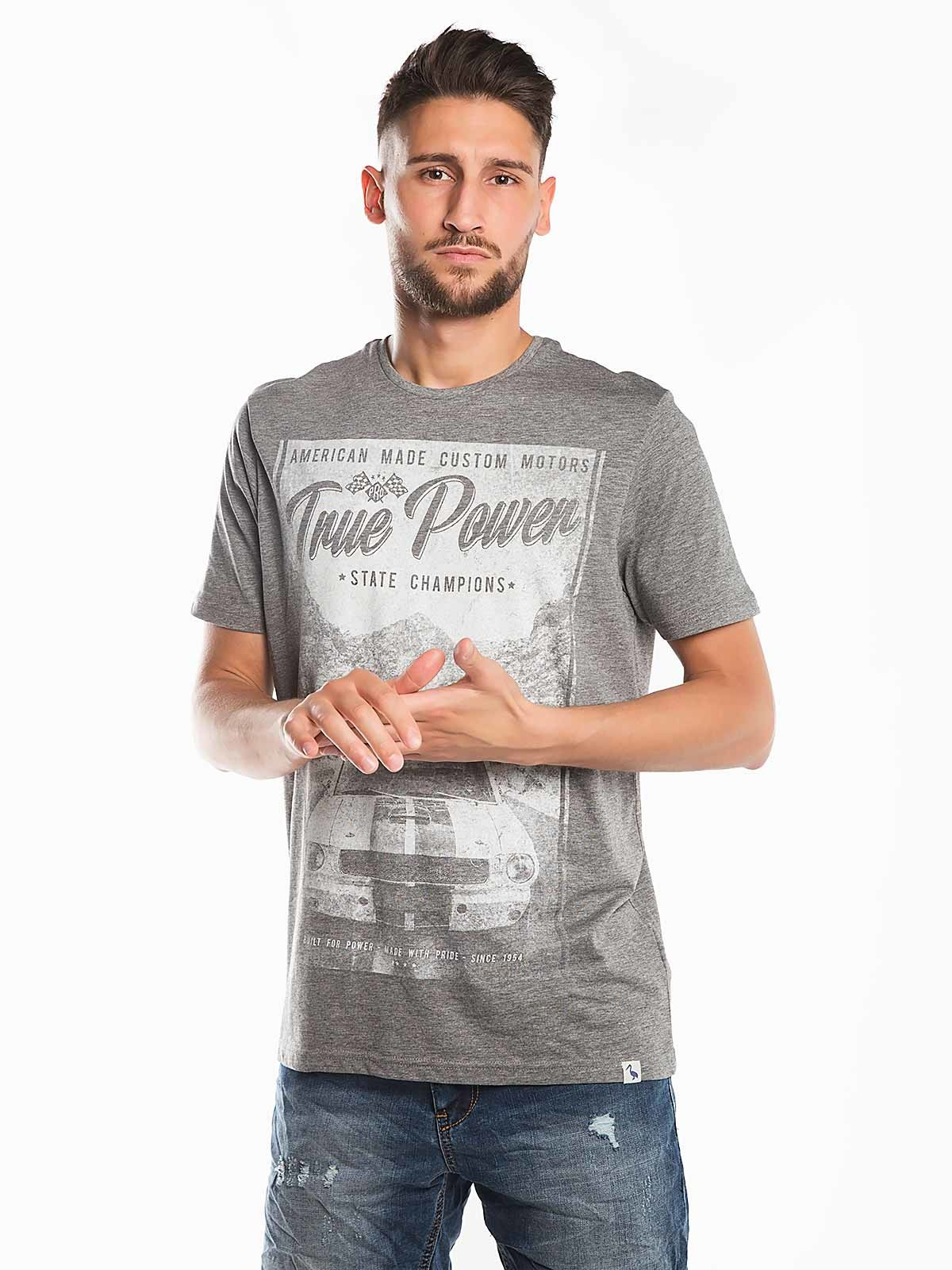 T-shirt estampada True Power