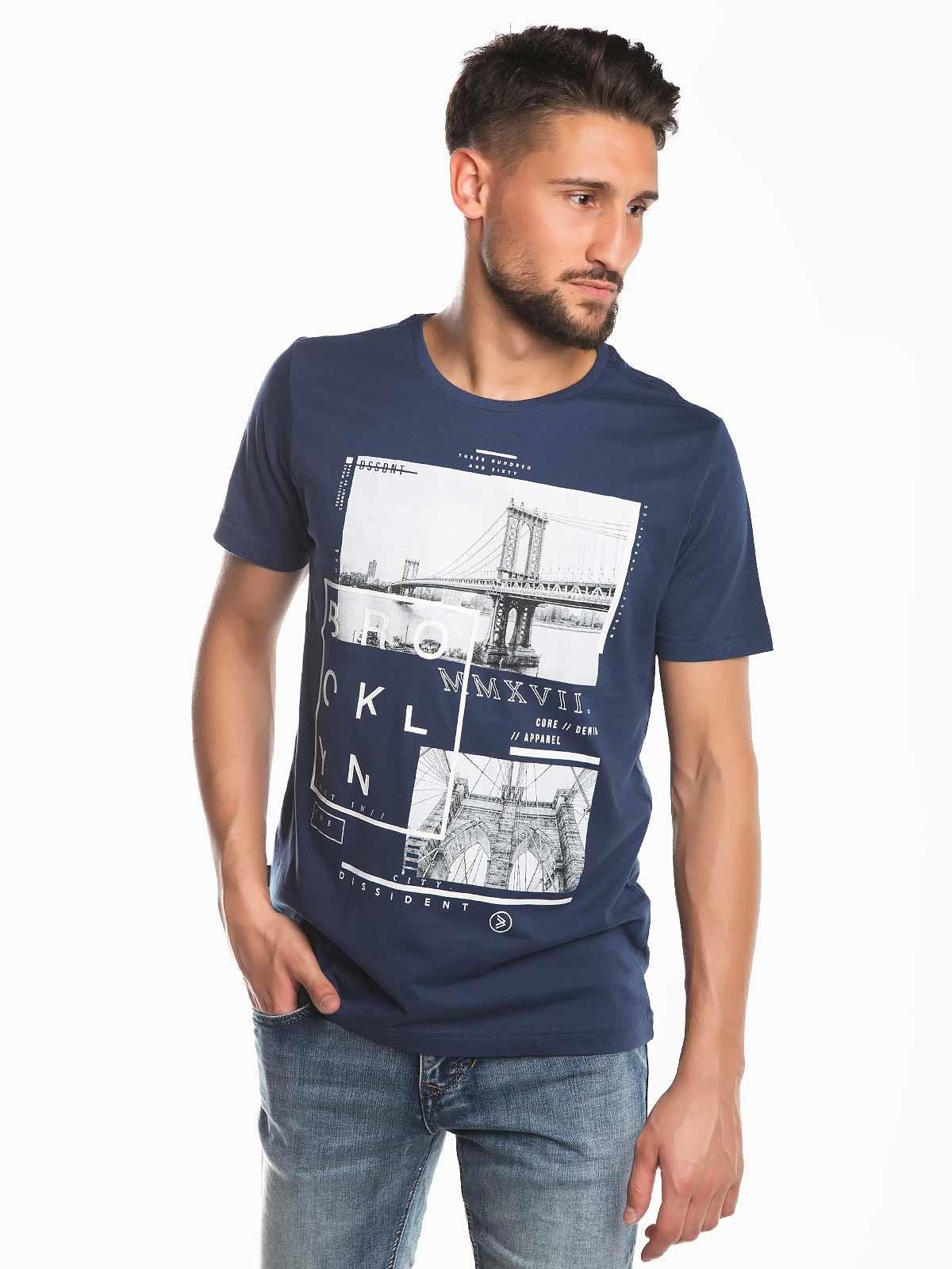 Camiseta con estampado Brooklyn