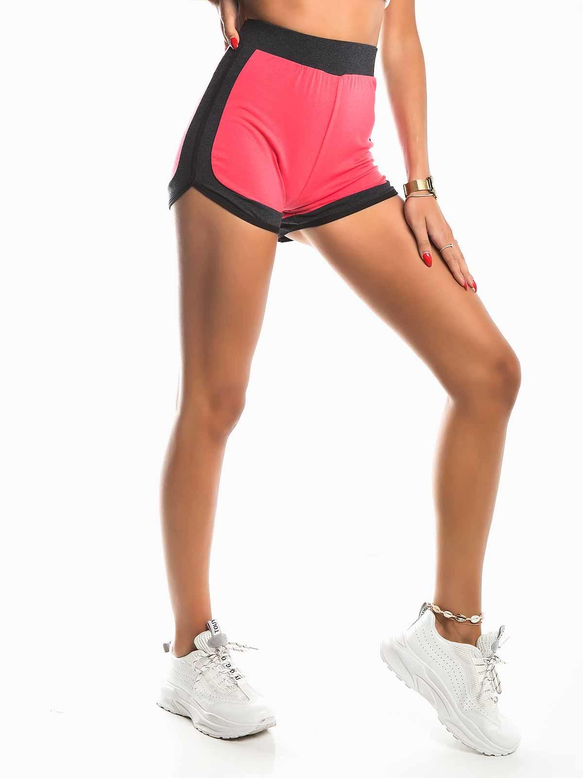 Calções fitness curtos