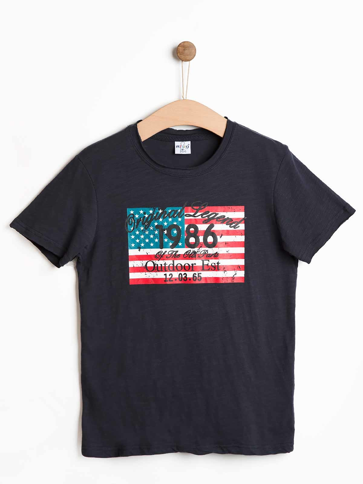 T-shirt estampada 1986