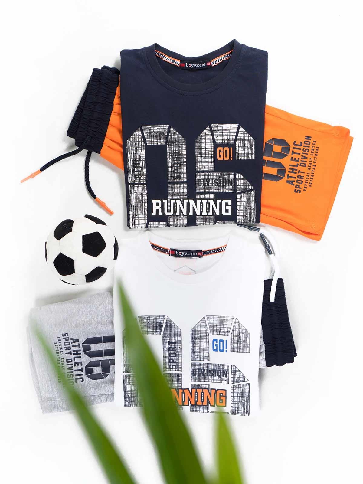 Conjunto t-shirt e calções 06 Running