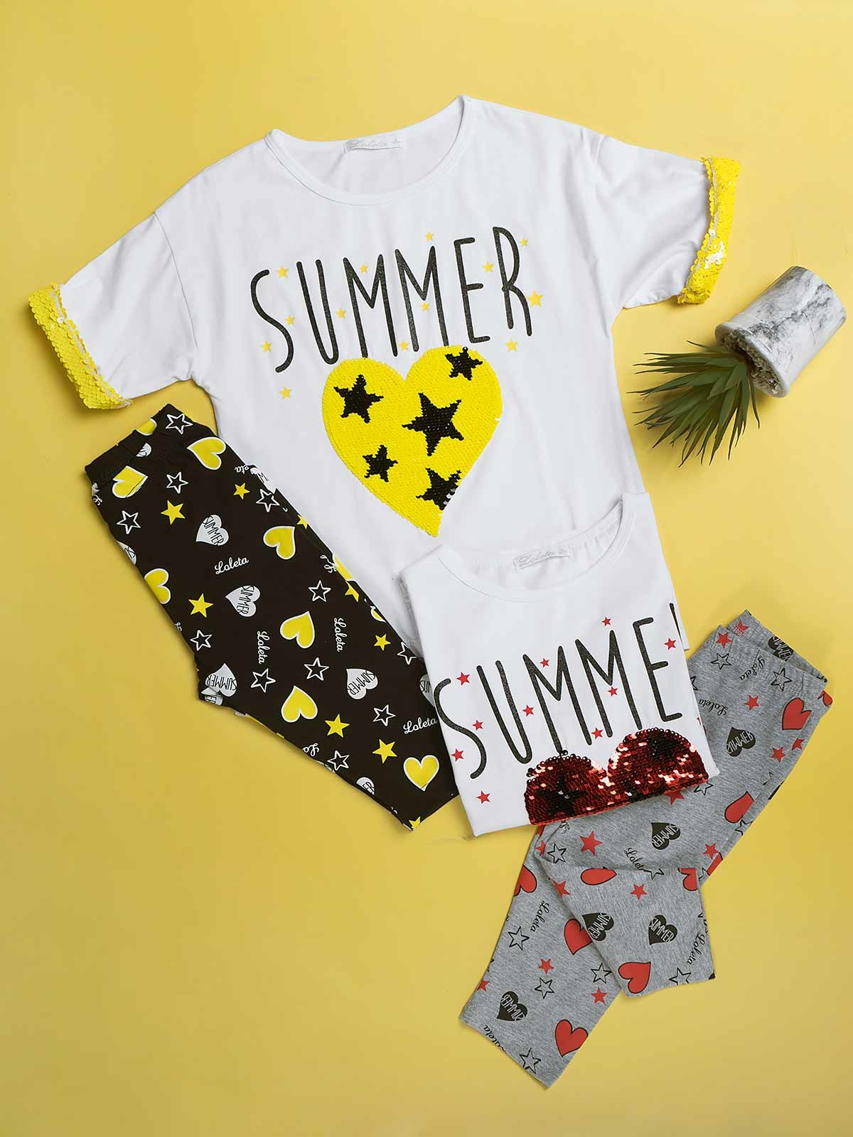 Conjunto t-shirt leggings Summer