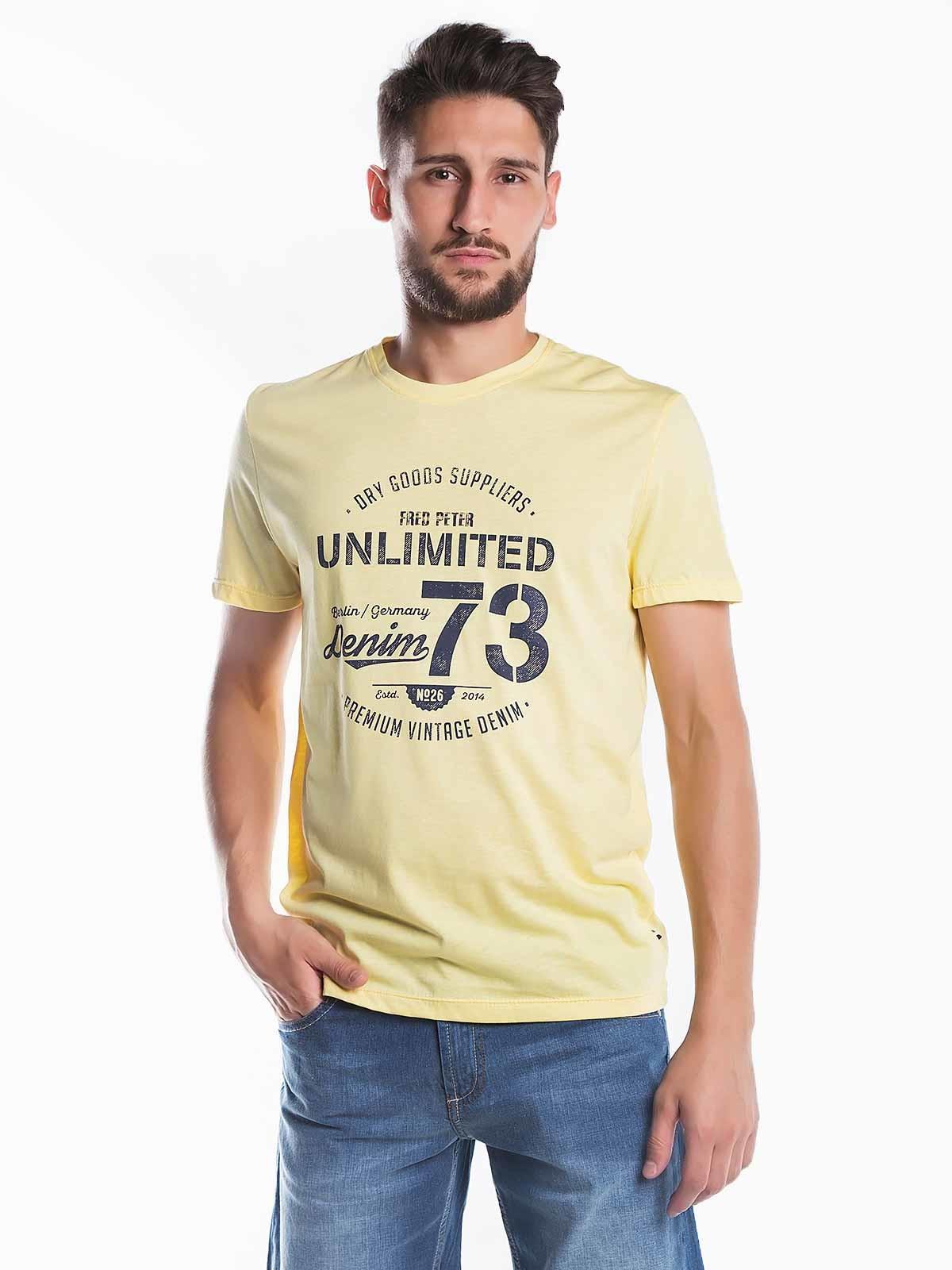 T-shirt estampada Unlimited 73