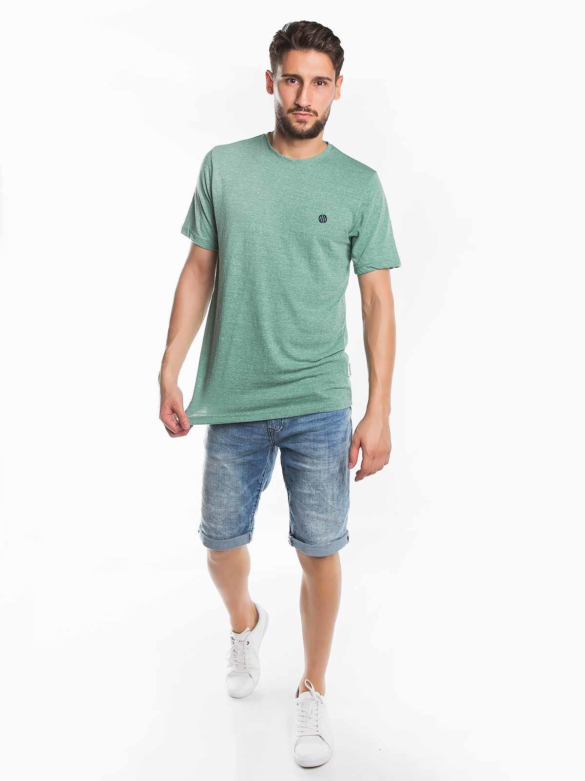 T-shirt de homem mesclada