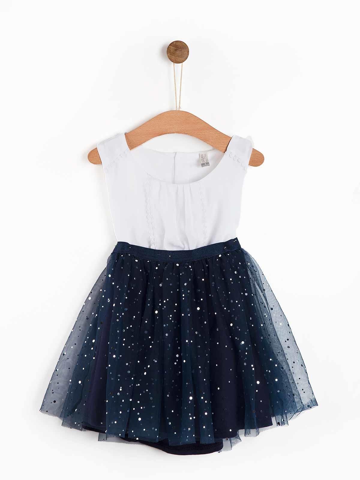 Conjunto menina saia lantejoulas e blusa