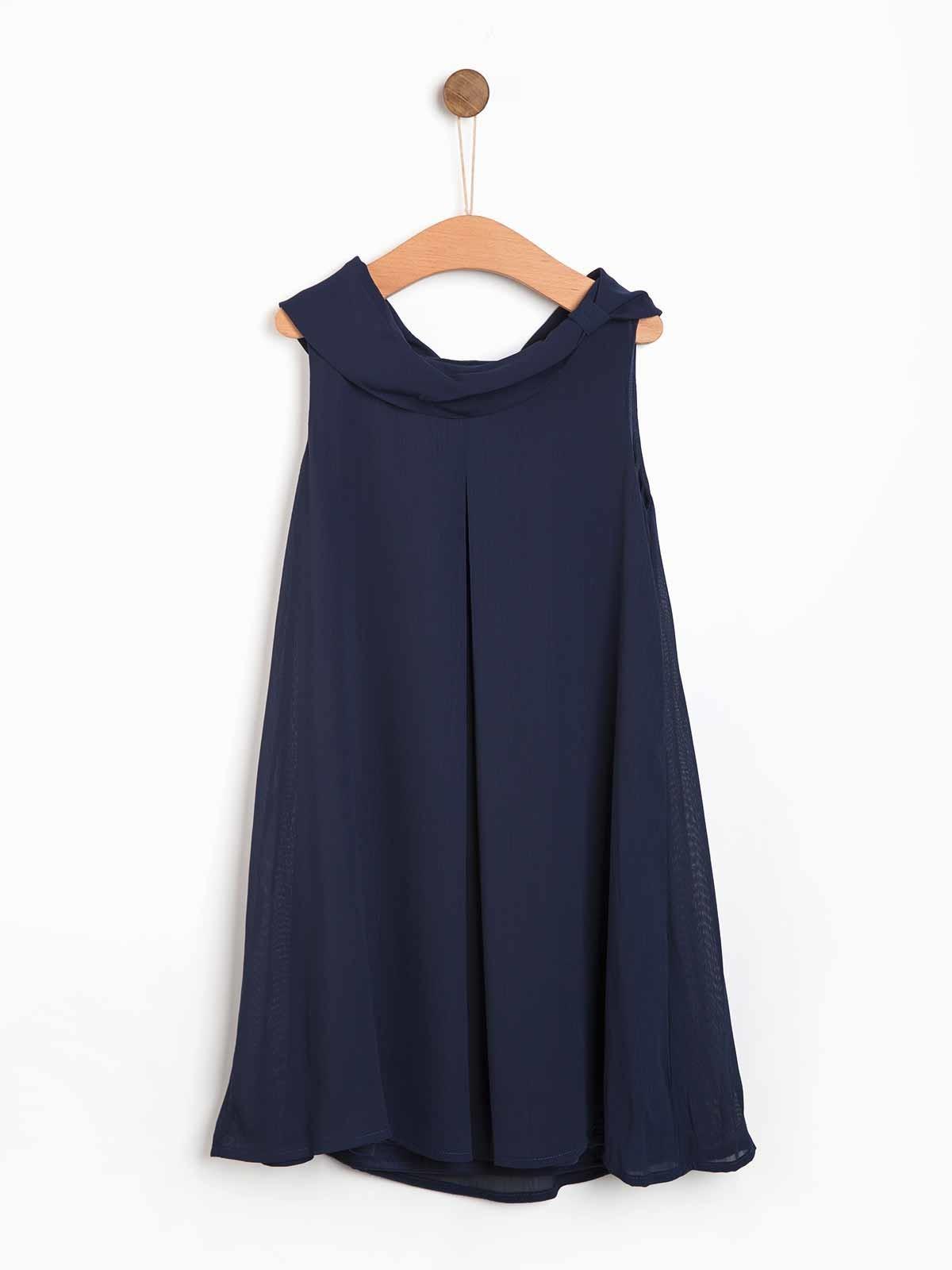 Vestido de menina azul