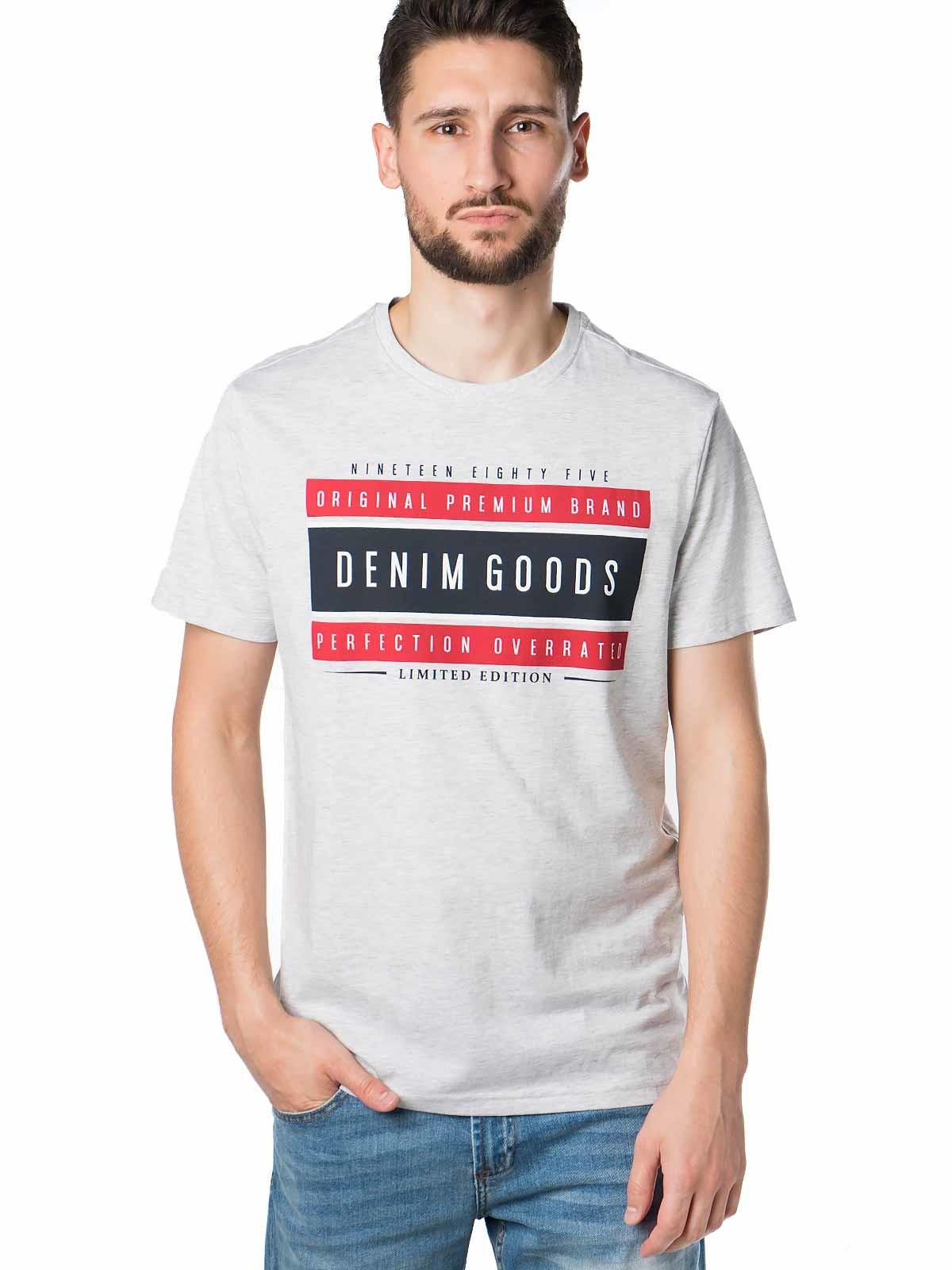T-shirt manga curta vários estampados
