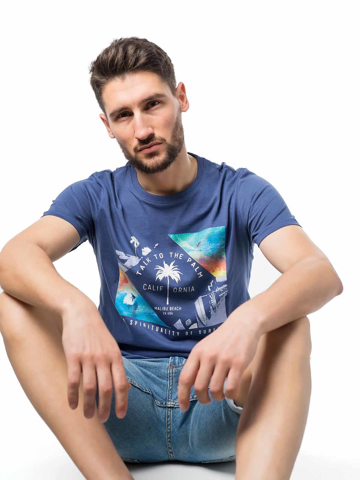 T-shirt de manga curta estampados