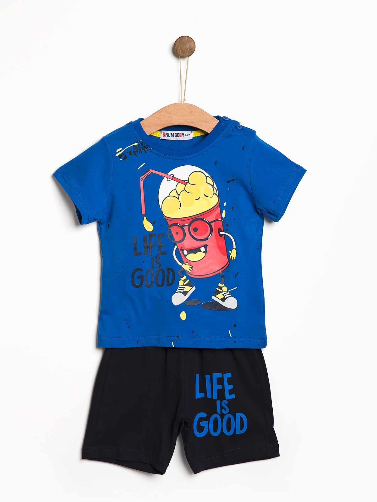 Conjunto calção t-shirt Life is Good