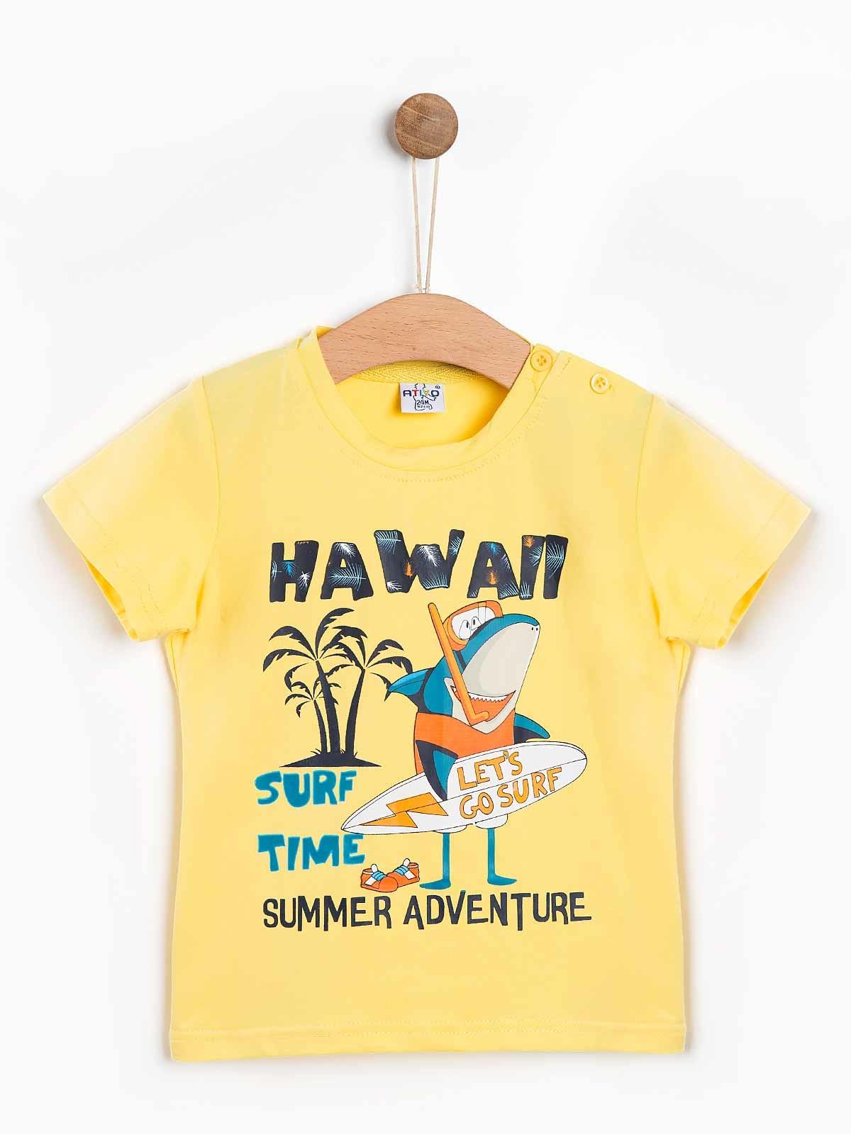 T-shirt bebé menino Hawai