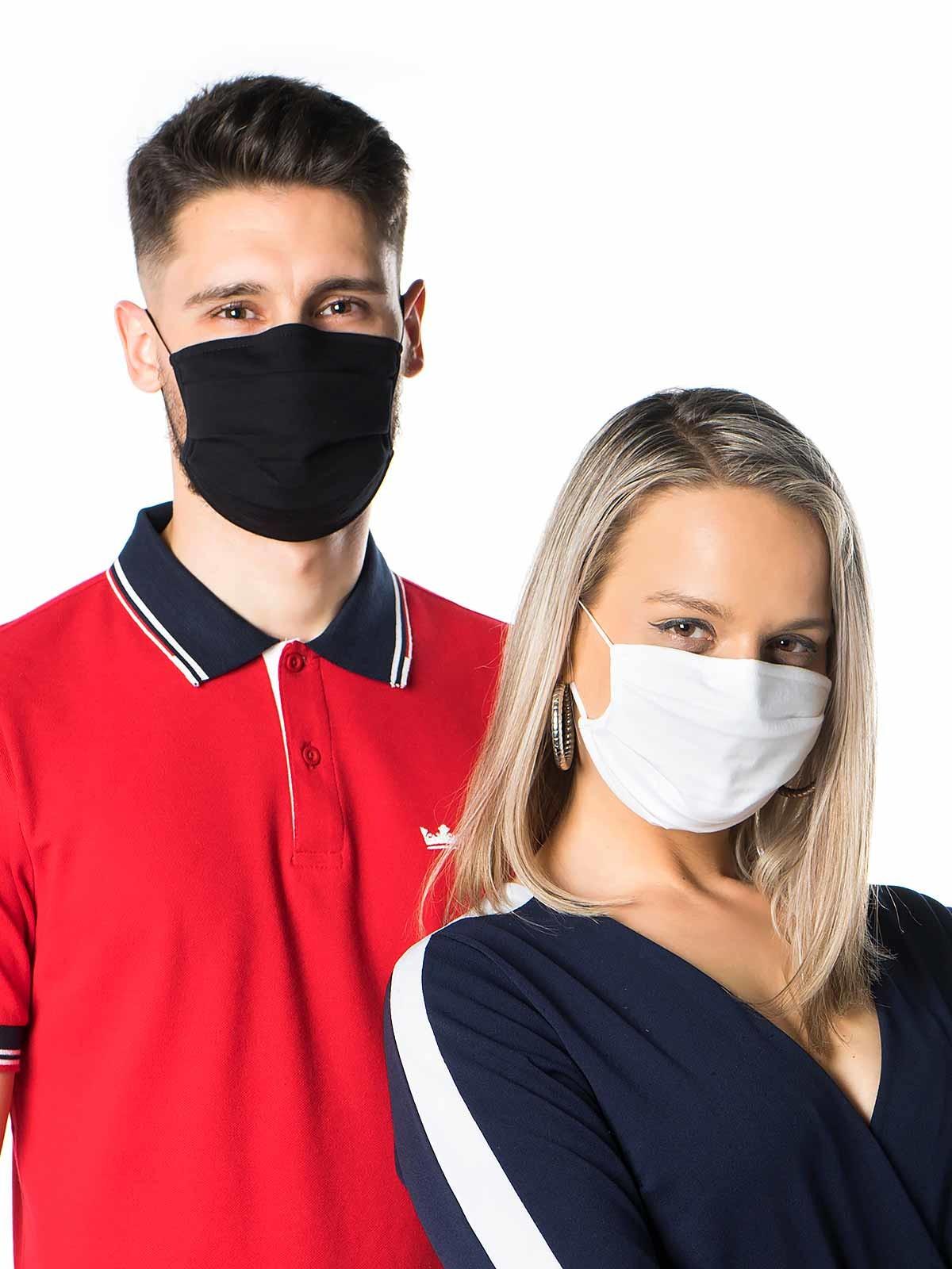 Máscara de proteção lavável