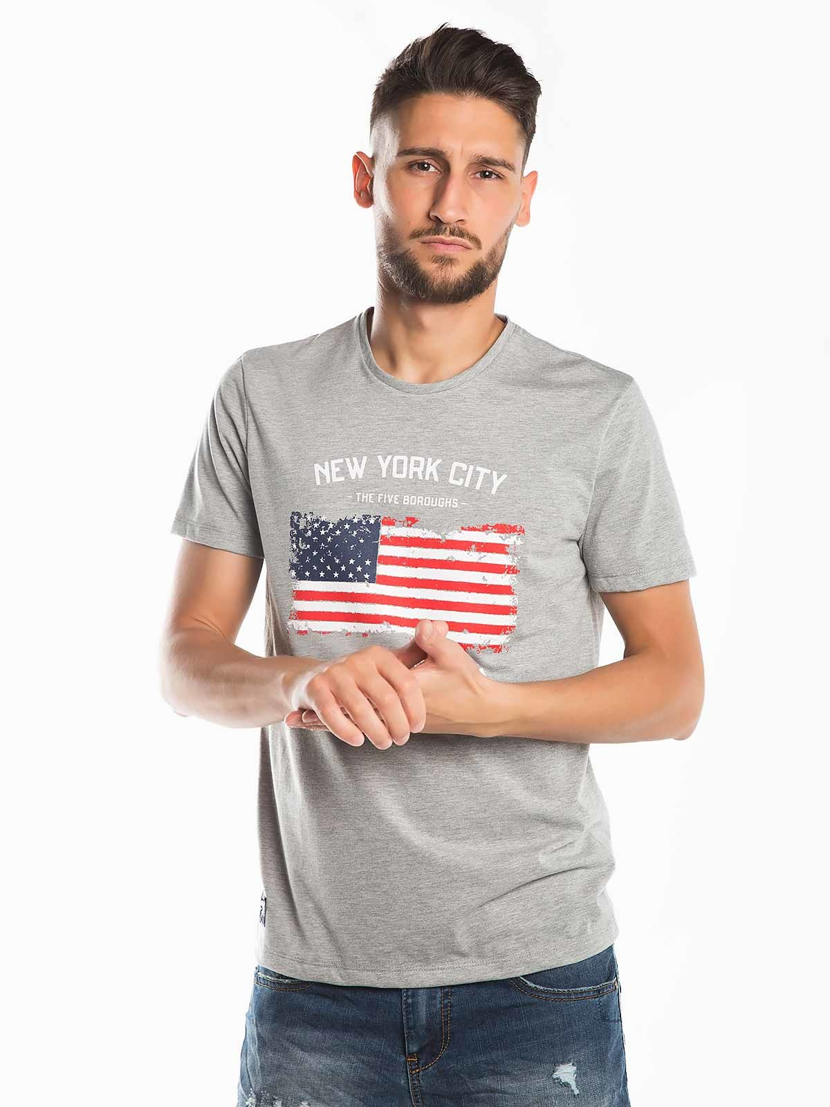T-shirt estampada New York City