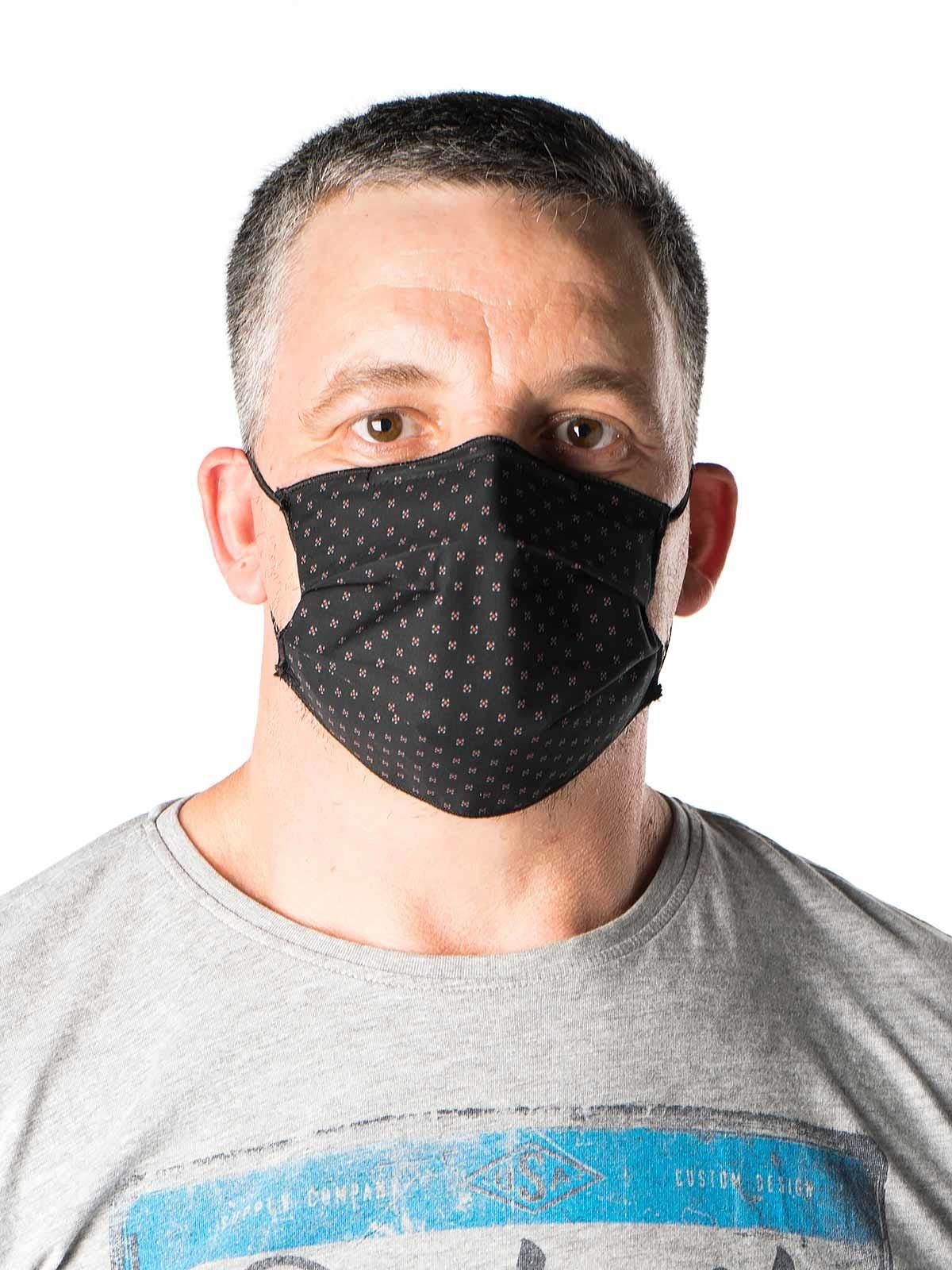 Máscara de proteção individual estampada