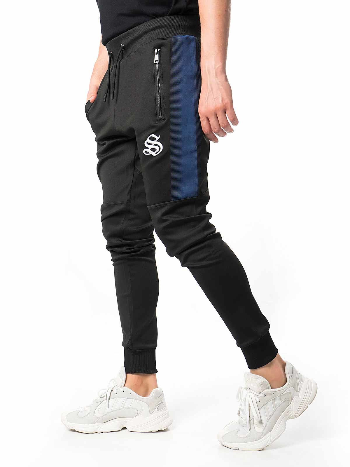 Pantalones de chándal hombre con raya