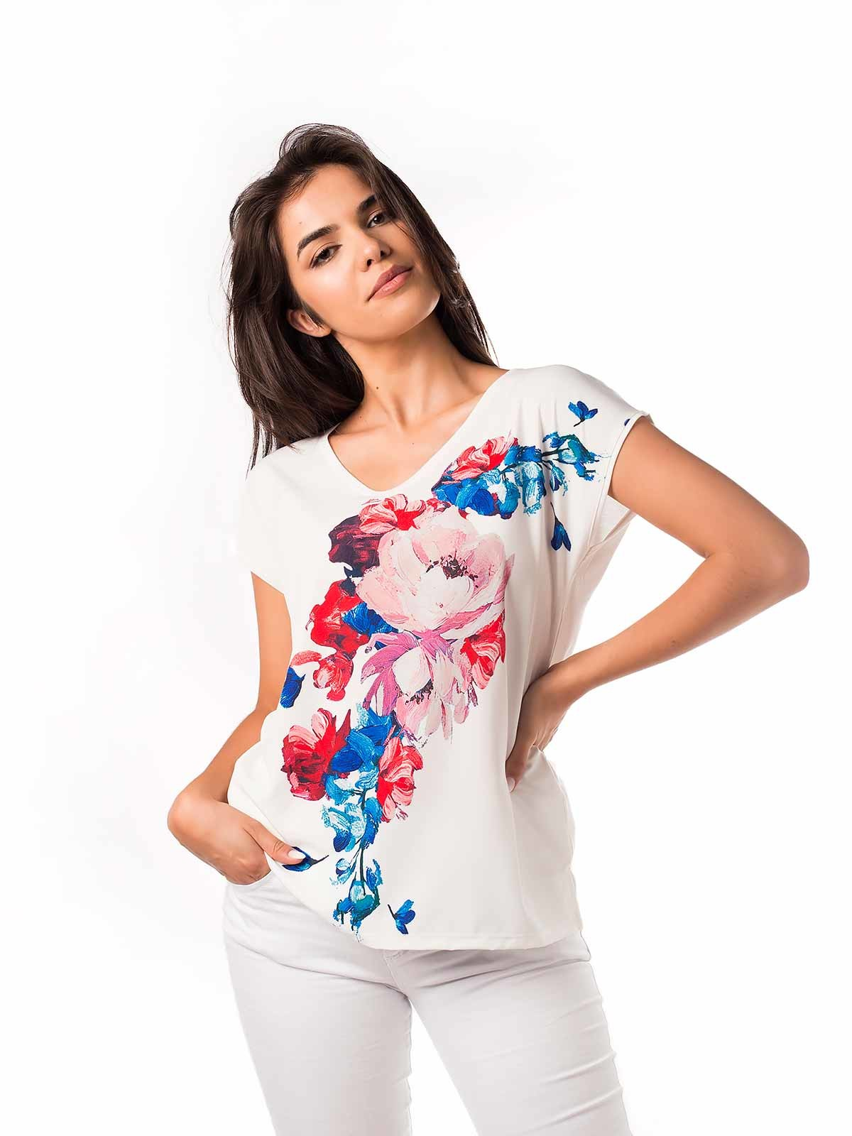 Blusa fresca floral
