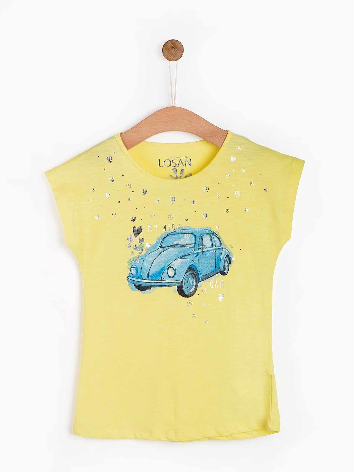 T-shirt estampada Beetle