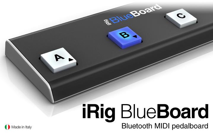 IK MULTIMEDIA - IK Multimedia Controlador de Software iRig BlueBoard
