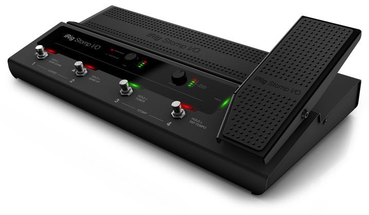 IK MULTIMEDIA - IK Multimedia Interface Pedal iRig Stomp I/O