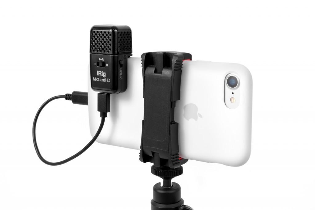 IK MULTIMEDIA - Microfone iRig Mic Cast HD IK Multimedia